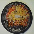 Def Leppard - Patch - 1980s  Def leppard Pyromania patch