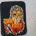 Quiet Riot 1980s patch