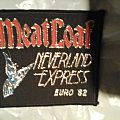 Meat Loaf neverland express euro 82 patch