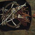 Slayer - Patch - SOLD SOLD vintage 80s Slayer back patch many thanks frank