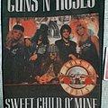 Guns N' Roses - Patch - Vintage 80s Guns N Roses Backpatch