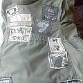 GISM - Battle Jacket - early 90s Hardcore Army coat (long retired but kept in closet)