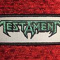 Testament patch