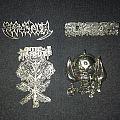 Sepultura, Blasphemy, Hell Hammer, & Motorhead metal pins Pin / Badge
