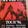 Sepultura - Roots Tour 96 - Promo Concert Poster Other Collectable
