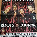 Sepultura - Roots Tour 96 - Poster Other Collectable