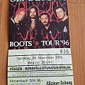 Sepultura - Roots Tour 96 - Ticket Other Collectable