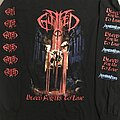 Gutted - TShirt or Longsleeve - Gutted - Bleed for Us to Live long sleeve t-shirt