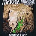 Anatomia - TShirt or Longsleeve - Anatomia / Cryptic Brood split tour  t-shirt 2018