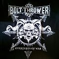 Bolt Thrower - Overtures of War Tourshirt 2014