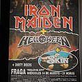 Iron Maiden + Helloween (Poster Tour Summer 1996)