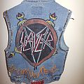 Slayer Show No Mercy Battle Jacket handmade