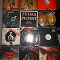 JUDAS PRIEST (Collection: lps, singles, maxis, cds, tapes, vhs, dvd, tourbook, box)