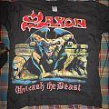 SAXON (Unleash the Beast 1997 No Official Shirt)