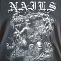 NAILS - Wide Open Wound - T Shirt