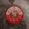 Black Sabbath - Circular Patch red