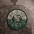 Black Sabbath - Circular Patch green