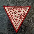 Denouncement Pyre - Black Sun Unbound woven patch