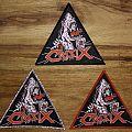 "Crisix Triangle Patch ""Shark"""