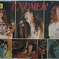 Exumer - Metal Hammer poster 1987 Other Collectable