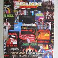 Various Artists - Other Collectable - Megaforce Rec. - 5th Anniversary concert (pamphlet)