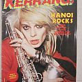 Hanoi Rocks - Other Collectable - Kerrang! - # 70 (1984)