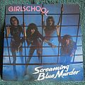 Girlschool - Screaming Blue Murder (Vinyl)