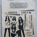 Kreator - Gig flyer 1989 Other Collectable