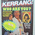 The Who - Other Collectable - Kerrang! - # 105 (1985)
