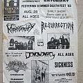 Festering Summer Death Fest' - flyer 1993