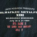 Milwaukee Metalfest XIII - Shirt