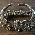 Girlschool - die cast pin