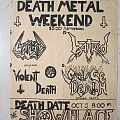 Whiplash - Gig flyer 1985 Other Collectable