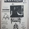 Voivod - Other Collectable - The Book of Armageddon #3 - Zine