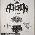 Acheron - Other Collectable - Acheron - Gig flyer 1992
