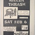 Death - Gig flyer 1988 Other Collectable