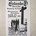 Entombed - Clandestine tour flyer (No Alcohol gig)