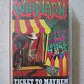 Whiplash – Ticket To Mayhem (tape) Tape / Vinyl / CD / Recording etc