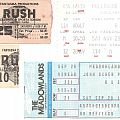 Rush -Ticket Stubs (1978 - 1984)