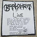 Baphomet - Other Collectable - Old death/grind/black/thrash flyers from 80's, 90's