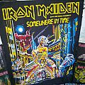 Iron Maiden - Patch - Iron Maiden Backpatch Somewhere in Time