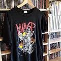 W.A.S.P. - TShirt or Longsleeve - Wasp mean man shirt tour 89