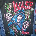 W.A.S.P. - Patch - Wasp Backpatch Scream until you like it