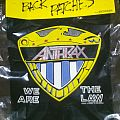 Anthrax - Patch - Anthrax Backpatch We are the Law