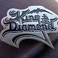 King Diamond - Pin / Badge - King Diamond pin 1989