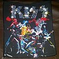 Kiss Alive Backpatch