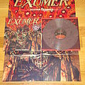 Exumer - Hostile Defiance LP LTD 200 Blackberry Marbled Vinyl