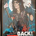 Alice Cooper - Other Collectable - Alice Cooper Signed Print