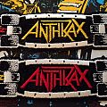 Anthrax Skateboard Strip Patches