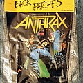 Anthrax - Spreading the Disease Back Patch
